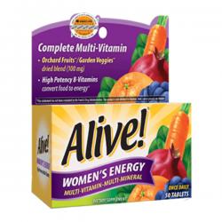 alive women enegy