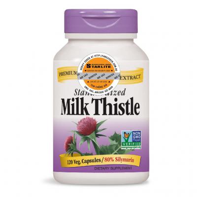 Hỗ Trợ Gan Nature's Way Milk Thistle SE 120 viên