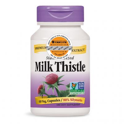 Hỗ Trợ Gan Nature's Way Milk Thistle SE 60 viên