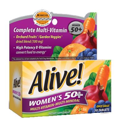 Vitamin tổng hợp ALIVE WOMEN 50+