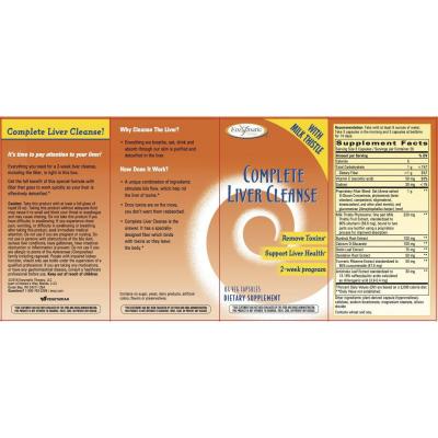 Thải Độc Gan Enzymatic Complete Liver Cleanse 84 viên